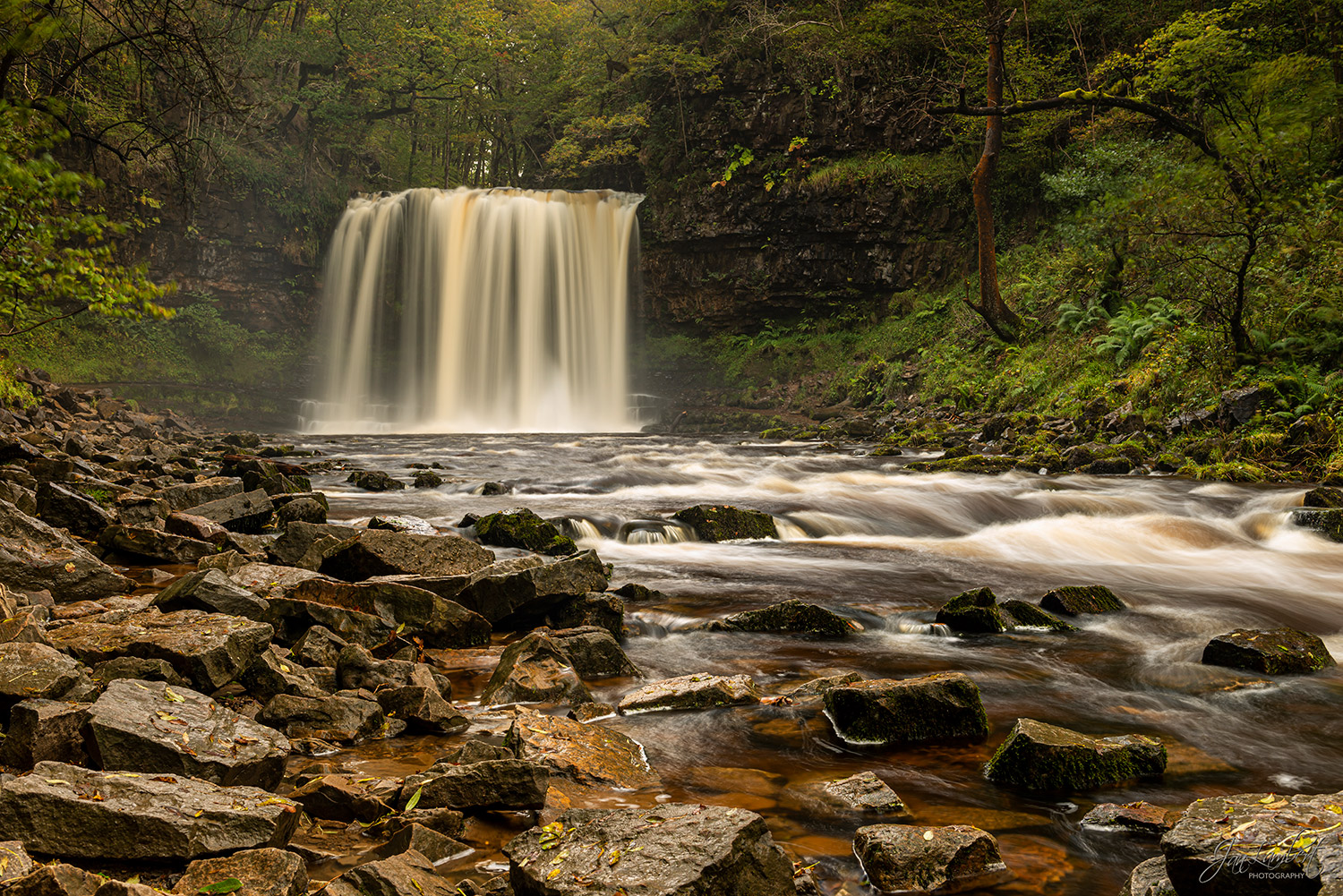 foto waterval Brecon Beacons - Jan Lambert Photography